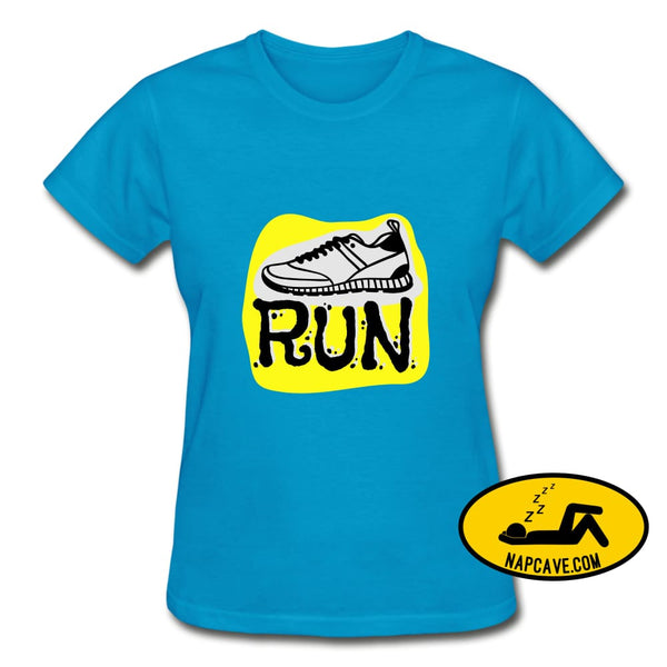That Running Excitement turquoise / S Gildan Ultra Cotton Ladies T-Shirt SPOD That Running Excitement customizable SPOD T-Shirts Women