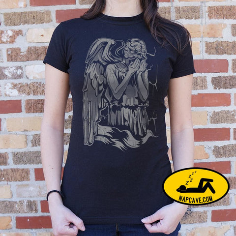 The Angel Weeping Assassin T-Shirt (Ladies) Ladies T-Shirt US Drop Ship The Angel Weeping Assassin T-Shirt (Ladies) fi movie sci tank tops