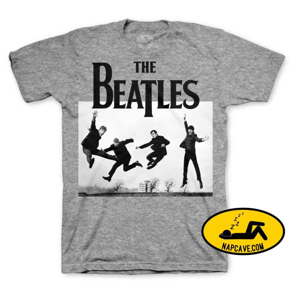 The Beatles | Jump Photo T-Shirt The Beatles The Beatles | Jump Photo T-Shirt mxed