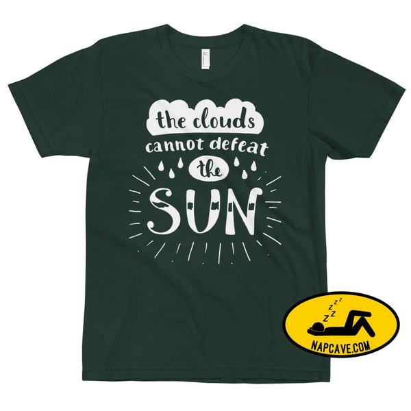 The Clouds cannot Defeat the Sun T-Shirt Forest / XS The NapCave The Clouds cannot Defeat the Sun T-Shirt bright fight the light fighting