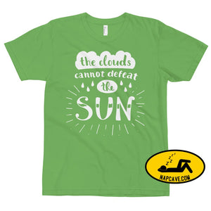 The Clouds cannot Defeat the Sun T-Shirt Grass / XS The NapCave The Clouds cannot Defeat the Sun T-Shirt bright fight the light fighting