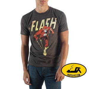 The Flash Authentic Vintage Print T-Shirt T-Shirts The Flash Authentic Vintage Print T-Shirt mxed