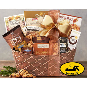 The Gourmet Choice Gift Basket by Wine Country Gift Baskets Gift Basket Wine Country Gift Baskets The Gourmet Choice Gift Basket by Wine