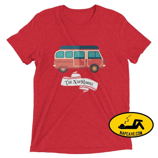 The NapMobile T-Shirt Red Triblend / XS Nap Cave The NapMobile T-Shirt batman batmobile NapCave napman napmobile