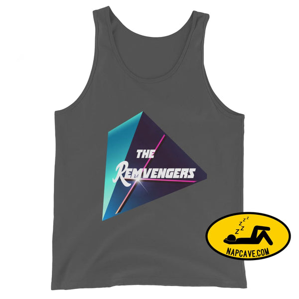 The Remvengers Unisex Tank Top Asphalt / XS The NapCave The Remvengers Unisex Tank Top Can do it with my Eyes Closed I am so good I can