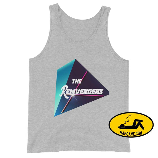 The Remvengers Unisex Tank Top Athletic Heather / XS The NapCave The Remvengers Unisex Tank Top Can do it with my Eyes Closed I am so good I