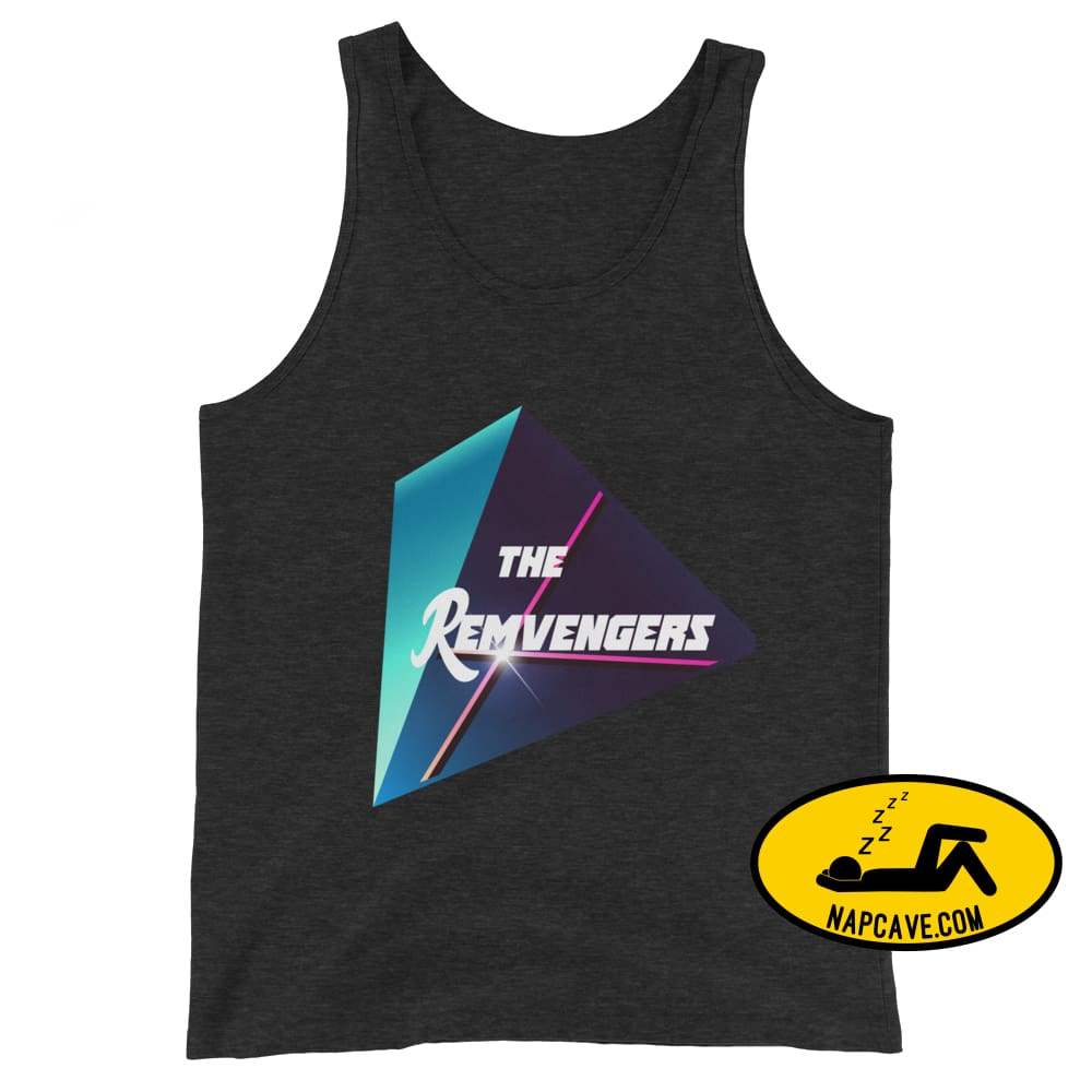 The Remvengers Unisex Tank Top Charcoal-Black Triblend / XS The NapCave The Remvengers Unisex Tank Top Can do it with my Eyes Closed I am so