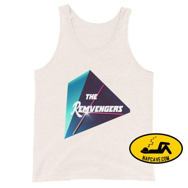 The Remvengers Unisex Tank Top Oatmeal Triblend / XS The NapCave The Remvengers Unisex Tank Top Can do it with my Eyes Closed I am so good I
