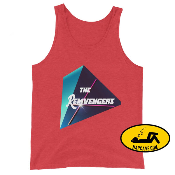 The Remvengers Unisex Tank Top Red Triblend / XS The NapCave The Remvengers Unisex Tank Top Can do it with my Eyes Closed I am so good I can