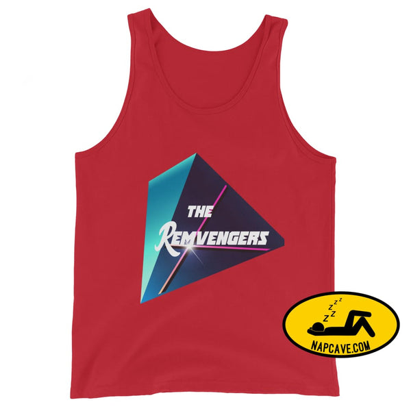 The Remvengers Unisex Tank Top Red / XS The NapCave The Remvengers Unisex Tank Top Can do it with my Eyes Closed I am so good I can sleep