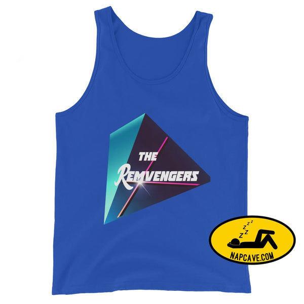 The Remvengers Unisex Tank Top True Royal / XS The NapCave The Remvengers Unisex Tank Top Can do it with my Eyes Closed I am so good I can