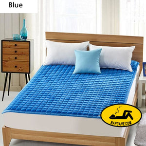 Thick Warm Foldable 1.8 m Dormitory Mattress Korea Hotel Bedding NEW Topper Quilted Bed Can Customizable BEDDING The NapCave Thick Warm