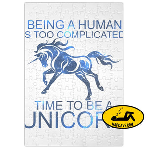 Time To Be A Unicorn Slogan Jigsaw Puzzle Maze aliex Time To Be A Unicorn Slogan Jigsaw Puzzle Maze chronic illness game human puzzle