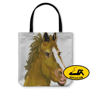 Tote Bag Horse Head Watercolor Painting Tote Bag Gear New Tote Bag Horse Head Watercolor Painting animal aquarel aquarrel backpack bag