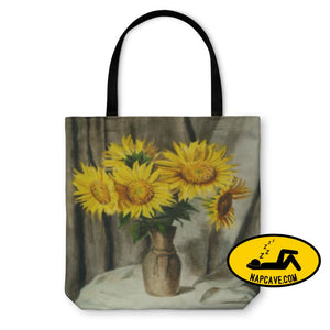 Tote Bag Sunflowers Tote Bag Gear New Tote Bag Sunflowers art backpack bag beach carry