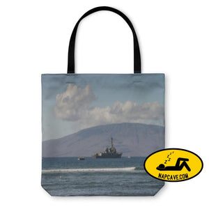 Tote Bag Us Naval Ship Tote Bag Gear New Tote Bag Us Naval Ship backpack bag battle battleshp beach