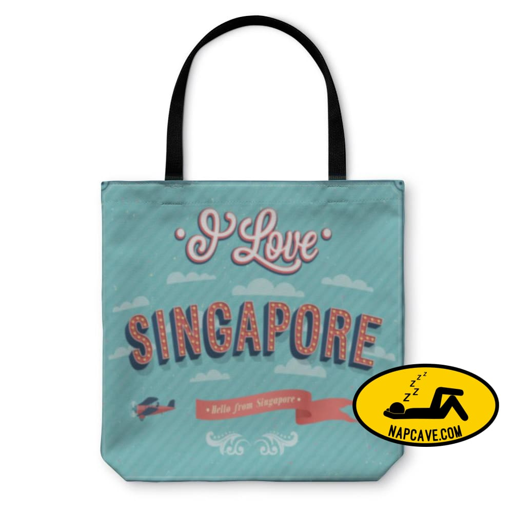 Tote Bag Vintage Greeting Card From Singapore Singapore Tote Bag Gear New Tote Bag Vintage Greeting Card From Singapore Singapore