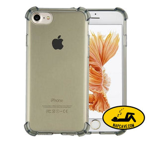 Transparent Cover For Iphone 7 6 6s Plus Black / For Iphone 6 6s Nap Cave Transparent Cover For Iphone 7 6 6s Plus