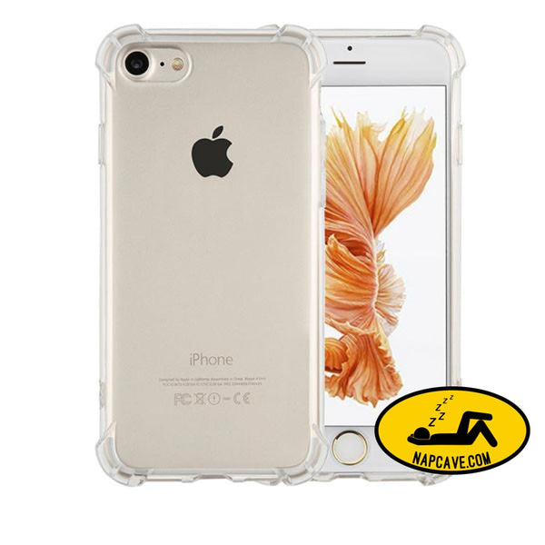 Transparent Cover For Iphone 7 6 6s Plus Clear / For Iphone 6 6s Nap Cave Transparent Cover For Iphone 7 6 6s Plus
