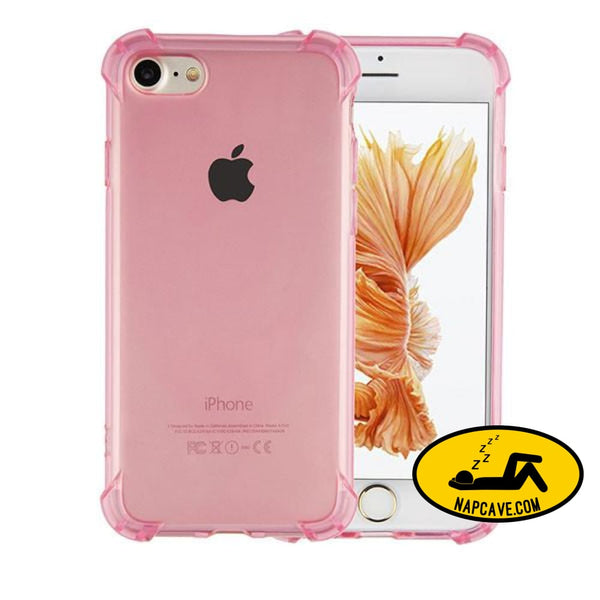 Transparent Cover For Iphone 7 6 6s Plus Pink / For Iphone 6 6s Nap Cave Transparent Cover For Iphone 7 6 6s Plus
