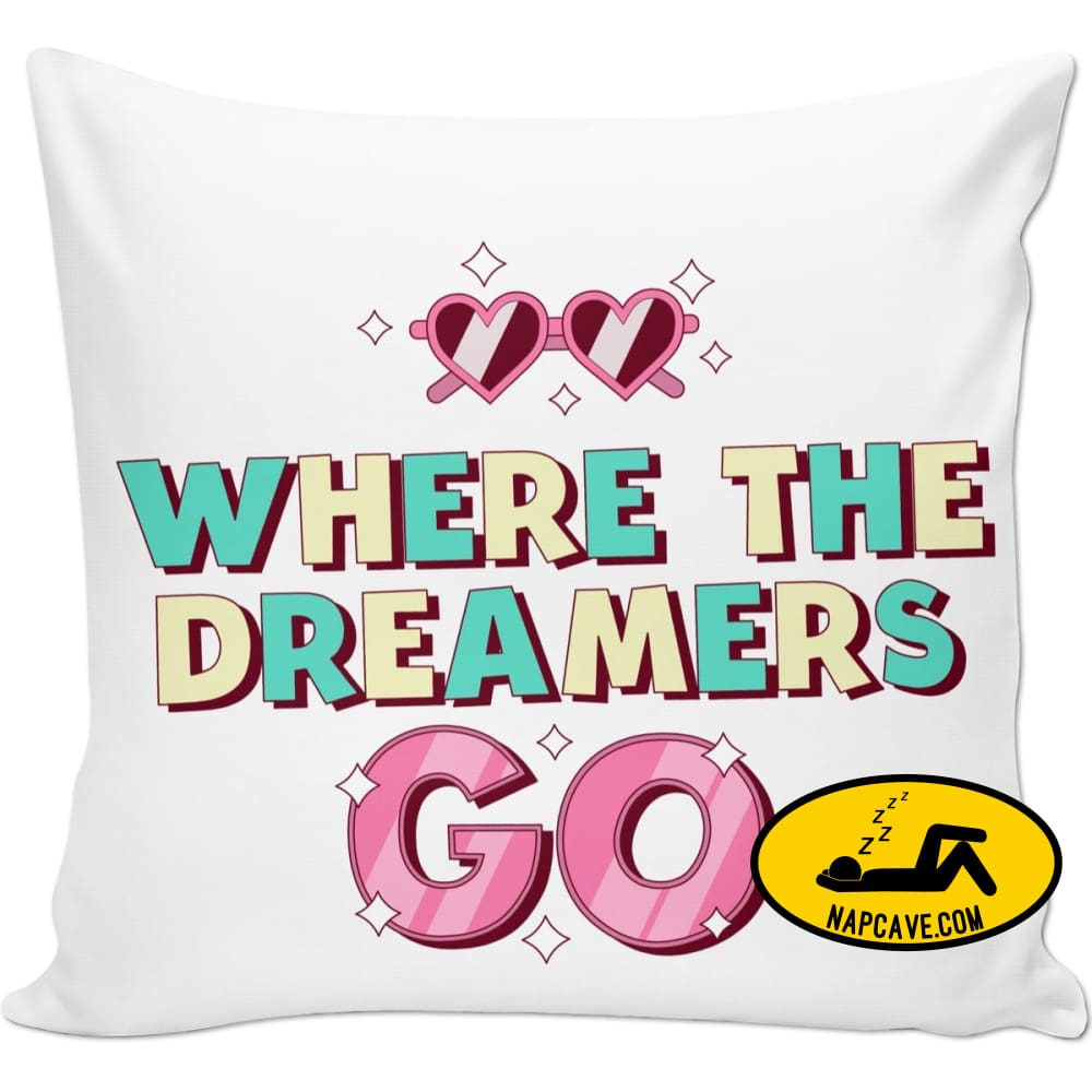 Where The Dreamers Go Couch Pillows NapCave Where The Dreamers Go couch pillow nap pillow NapCave napper pillow
