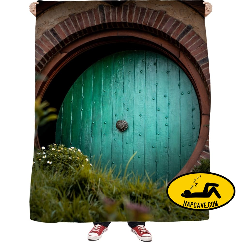 Where the Hobbits Live Blankets NapCave Where the Hobbits Live RageOn Connect rspid3999787712600