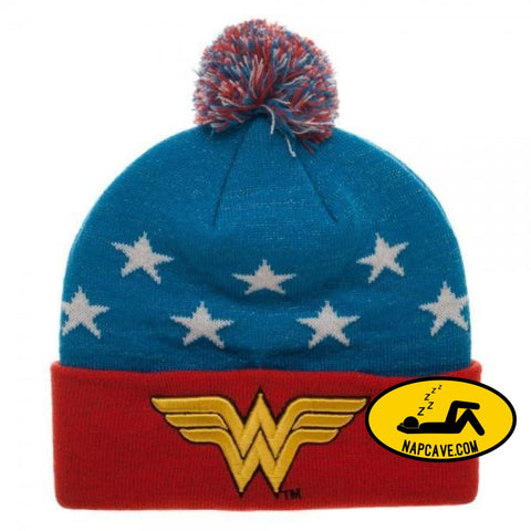 Wonder Woman 3D Embroidary Beanie Wonder Woman Wonder Woman 3D Embroidary Beanie mxed Wonder Woman