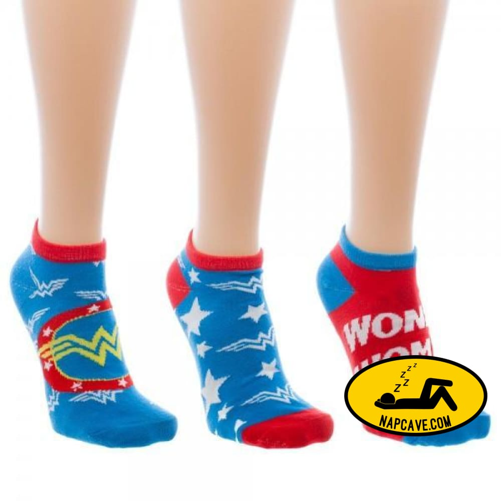 Wonder Woman Ankle Socks 3 Pack Sock Wonder Woman Wonder Woman Ankle Socks 3 Pack mxed Wonder Woman
