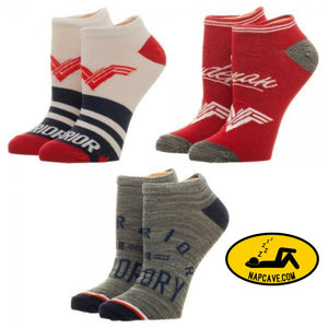 Wonder Woman Ankle Socks 3 Pack Wonder Woman Wonder Woman Ankle Socks 3 Pack mxed Wonder Woman