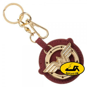 Wonder Woman Metal/Canvas Keychain Wonder Woman Wonder Woman Metal/Canvas Keychain mxed