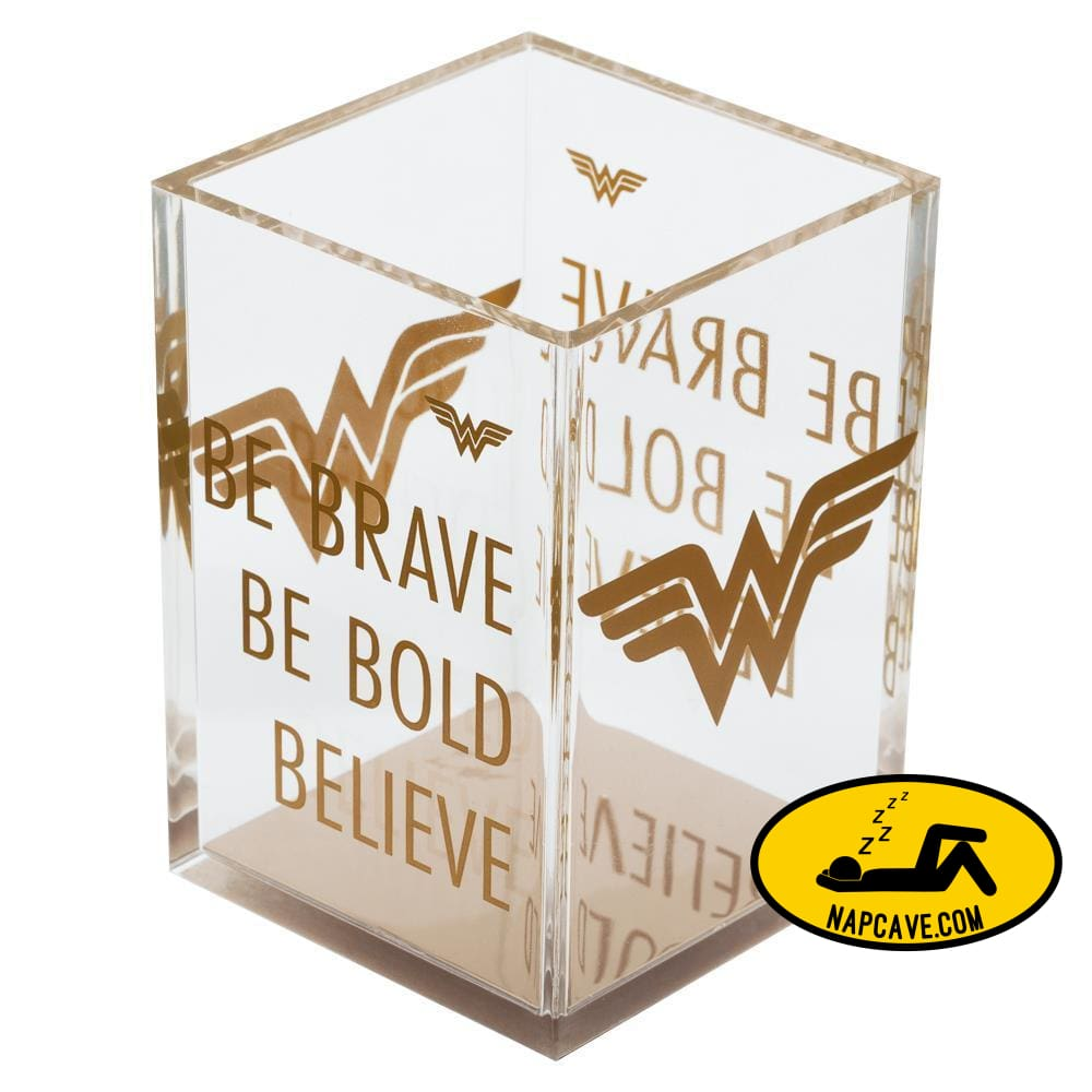 Wonder Woman Pencil Holder Wonder Woman Office Wonder Woman Desk Accessories Wonder Woman Gift Wonder Woman Accessories DC Comics Wonder