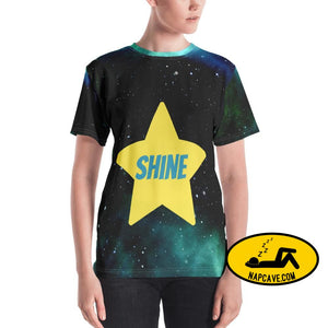 You Shine Even in Darkest Hours all over printed Tee XS The NapCave You Shine Even in Darkest Hours all over printed Tee all over print