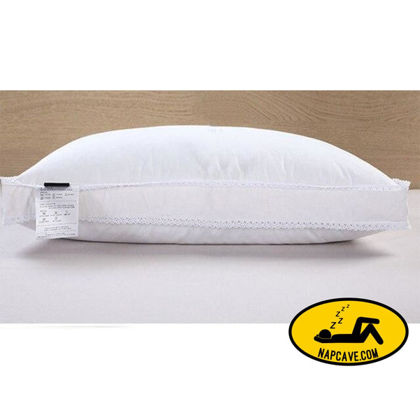 Zero Pressure Memory Pillow Neck Health textile 80% goose down pillow body / Sleeping / hotel pillows for sleeping bed pillows as picture 2