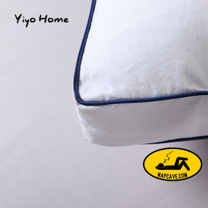 Zero Pressure Memory Pillow Neck Health textile 80% goose down pillow body / Sleeping / hotel pillows for sleeping bed pillows as picture /