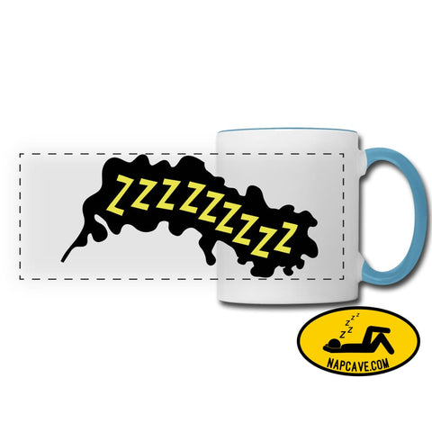 ZZZZzzzz Panoramic Mug white/light blue Panoramic Mug SPOD ZZZZzzzz Panoramic Mug Accessories customizable mug Mugs & Drinkware sleep