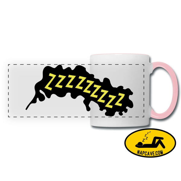 ZZZZzzzz Panoramic Mug white/pink Panoramic Mug SPOD ZZZZzzzz Panoramic Mug Accessories customizable mug Mugs & Drinkware sleep