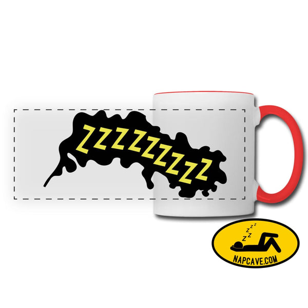 ZZZZzzzz Panoramic Mug white/red Panoramic Mug SPOD ZZZZzzzz Panoramic Mug Accessories customizable mug Mugs & Drinkware sleep