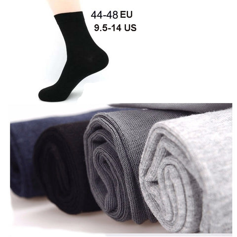 5 Pairs Cotton Socks Big Size