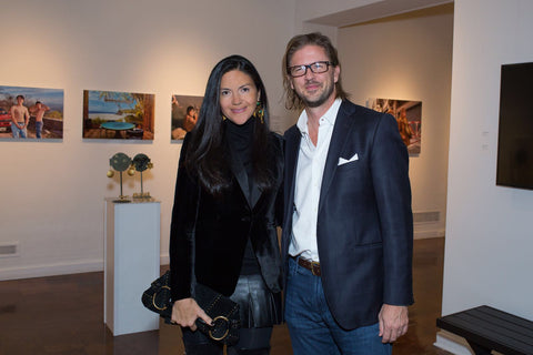 Picture of Carolina Corredor DeSouza and Hans Jaeger.
