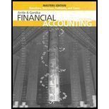 Masters, Questions, Exercises, Problems And Cases To Accompany Financial Accounting