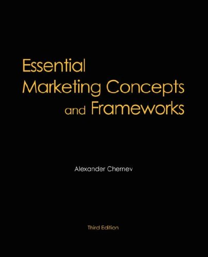 Essential Marketing Concepts and Frameworks, 3rd Edition