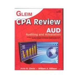 CPA Review 2008: Auditing
