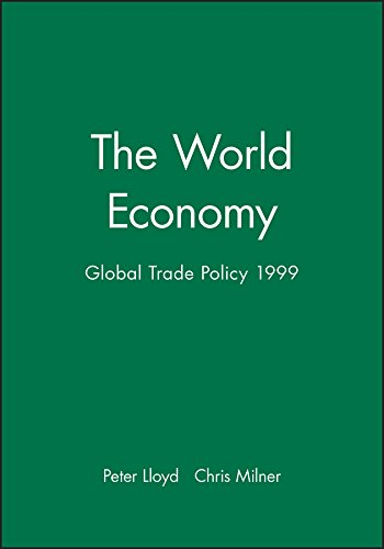 The World Economy, Global Trade Policy 1999 (World Economy Special Issues)