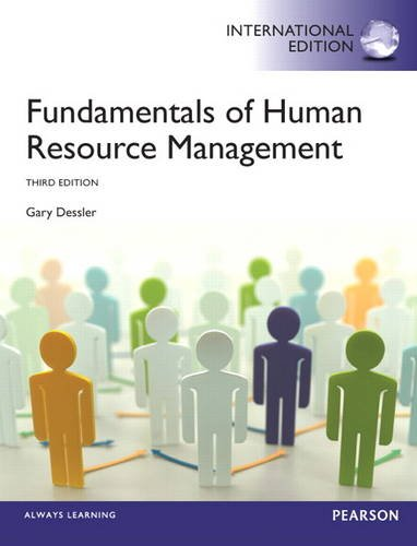 Fundamentals of Human Resource Management (3rd Edition)