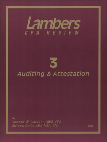3 Auditing and Attestation