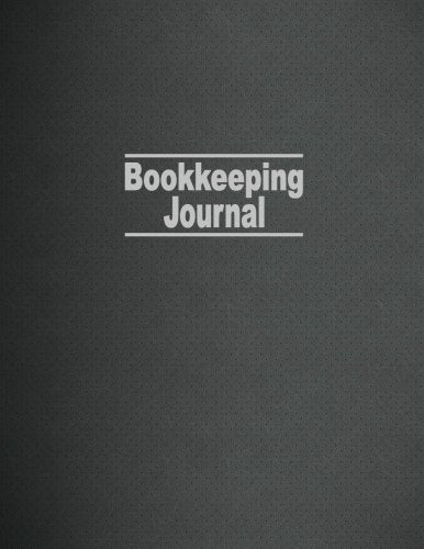 Bookkeeping Journal: Columnar Ruled Ledger, 5 Columns, 8.5x11 Inches, 100 Pages