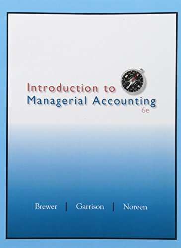 Introduction to Managerial Accounting ACC 2203, Special Edition for Baruch College