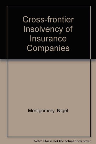 Cross-Frontier Insolvency of Insurance Companies