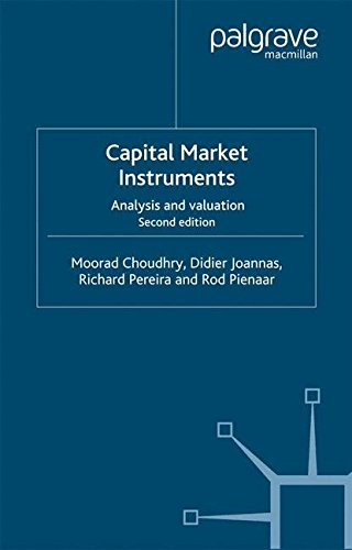 Capital Market Instruments: Analysis and valuation (Finance and Capital Markets Series)