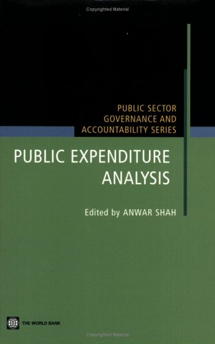 Public Expenditure Analysis (Public Sector Governance and Accountability)